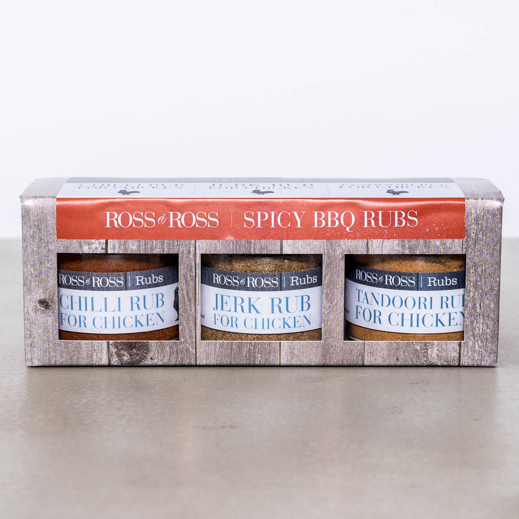 Spicy Bbq Rubs Trio Pack
