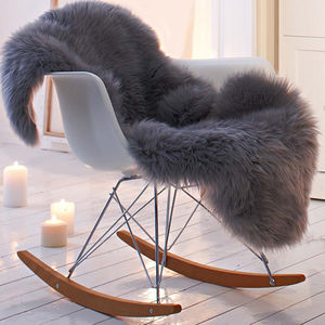 Hygge Style Modern Nursery Rocking Chair - dining room
