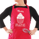 Cupcake Baking Apron Personalised