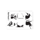 Banksy Rat Pack Wall Stickers