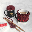 Wool Ewe Be Mine Mug Cosy Knitting Kit And Mug