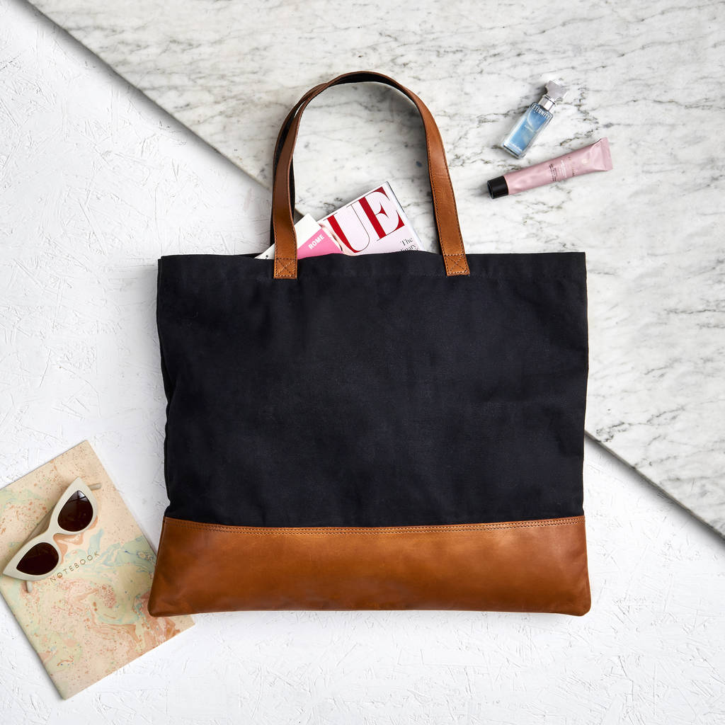 Tote Bag - black music notes by VIDA VIDA zZ4kSXrM2