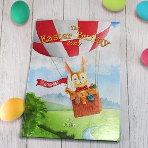 Personalised Easter Bunny Gift Book - easter gifts