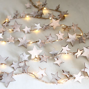 Star LED Light Garland - fairy lights & string lights