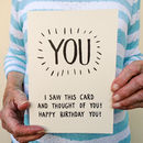 Joke Happy Birthday To You! Card