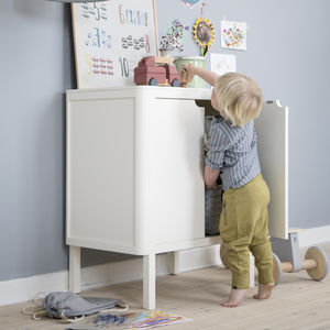 Classic White Two In One Changing Unit - baby's room