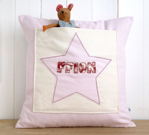 Personalised Star Pocket Cushion - cushions
