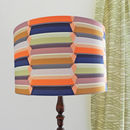 Block Valley Fabric as a lampshade