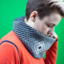 Lambswool Twist Scarf In Reeo Design