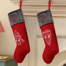 Personalised Nordic Knitted Christmas Stockings