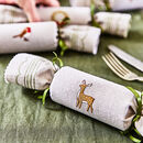 Woodland Reusable Christmas Crackers