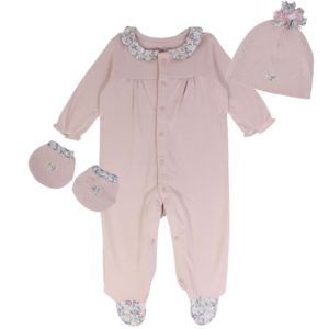 Newborn Baby Girl Liberty Bedtime Gift Set