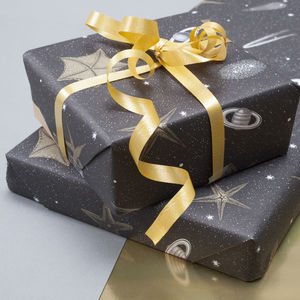 Starry Night Luxury Wrapping Paper