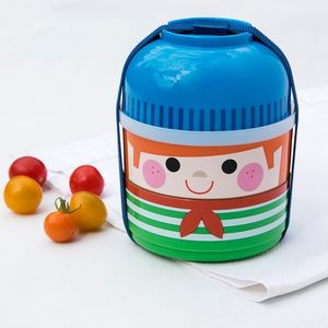 Boy Bento Three Compartment Lunch Box