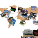 World Map Cork Pinboard Bundle