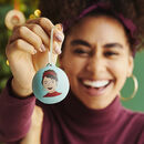 Personalised Hand Painted Portrait Bauble