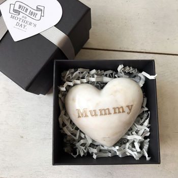 Mother's Day Marble Heart Hug