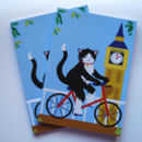 Cat Notebook, London Notebook