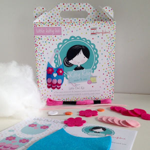 Mini Owl Sewing Craft Kit Gift - creative kits & experiences
