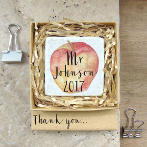 Thank You Teacher Magnet/Decoration In Matchbox - gifts for teachers