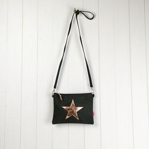 Star Mini Messenger Bag - bags, purses & wallets