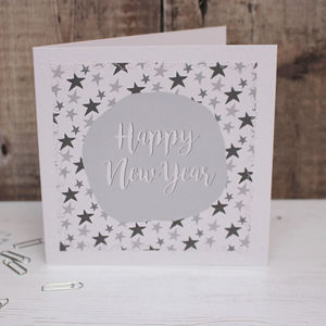 'Happy New Year' Card Pack - new year cards