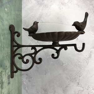Venus Cast Iron Bird Bath And Feeder