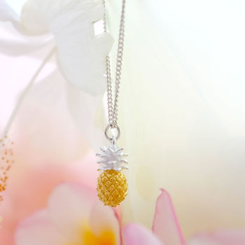 Vermeil Pineapple Necklace