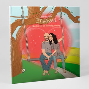 Personalised 'Engaged' Book