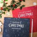 Christmas Memories Personalised Journal And Memory Book