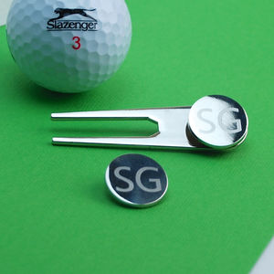Personalised Golf Marker Set - sport