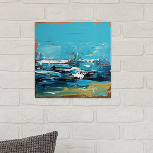 Rising Six Hand Painted Original Painting 25x25cm - new in