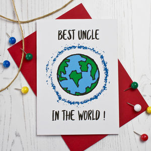 Best Uncle In The World Card