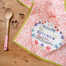 Happy Kitchen Gift Tea Towel