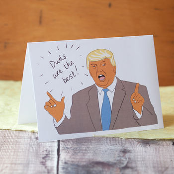 Donald Trump Card For Dad