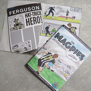 Personalised Newcastle United Football Club Comic Book