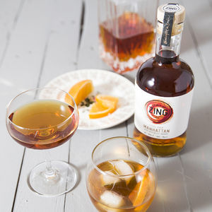 Steel Aged Manhattan Craft Whisky Cocktail - wines, beers & spirits