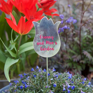 Personalised Plant Markers - gifts for her