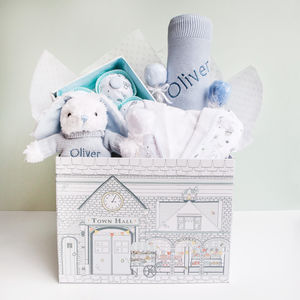 Little Love Sleepy Time Hamper, Blue - baby care