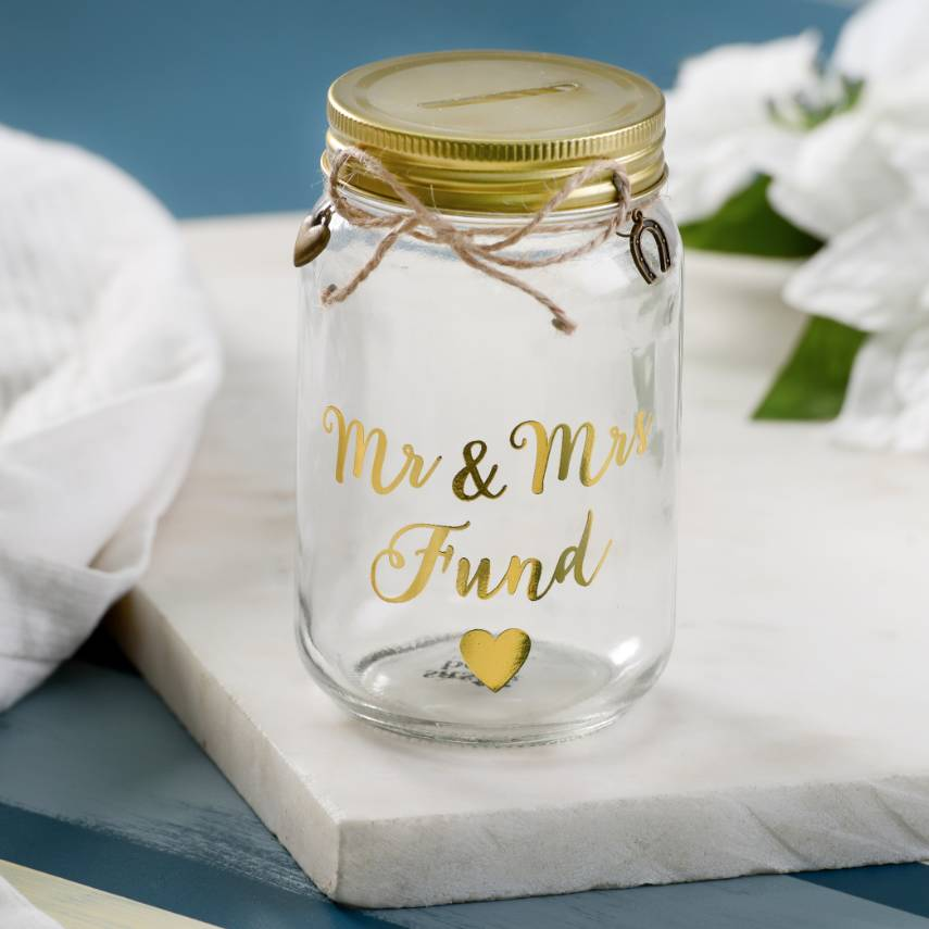 Wedding Savings Glass Jar By The Letteroom Notonthehighstreet Com