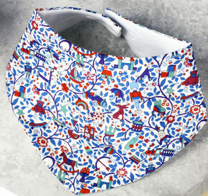 Baby Bib Liberty Design Toy Garden - baby care