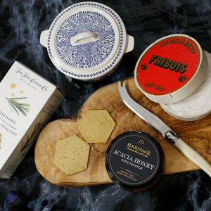 Ultimate Camembert Cheese Board - gifts for grandparents