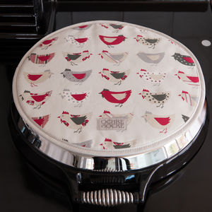 Roost Red Organic Hob Cover