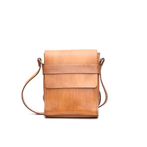 City Leather Messenger - womens