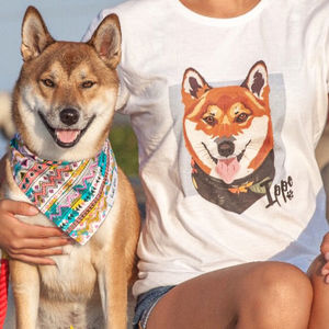 Personalised Custom Women's Pet Tshirt - pet-lover