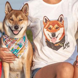 Personalised Custom Women's Pet Tshirt
