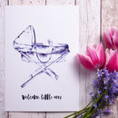 'Welcome Little One!' Newborn Baby / Christening Print