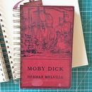 'Moby Dick' Upcycled Notebook