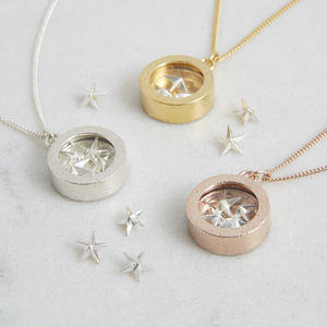 Lucky Stars Locket - sale birthday gifts for her