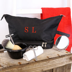 Personalised Seven Piece Wash Bag